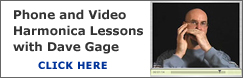Harmonica phone and video lessons