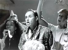 DG Band performing in 1991